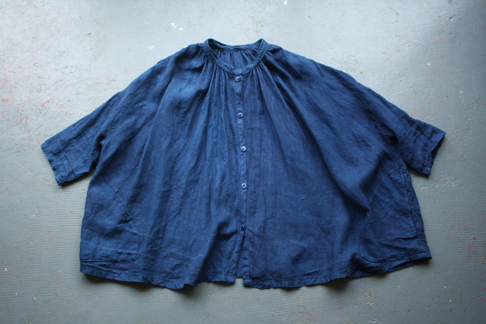 sarah johnson cabbage blue indigo clothing cast cornwall folklore