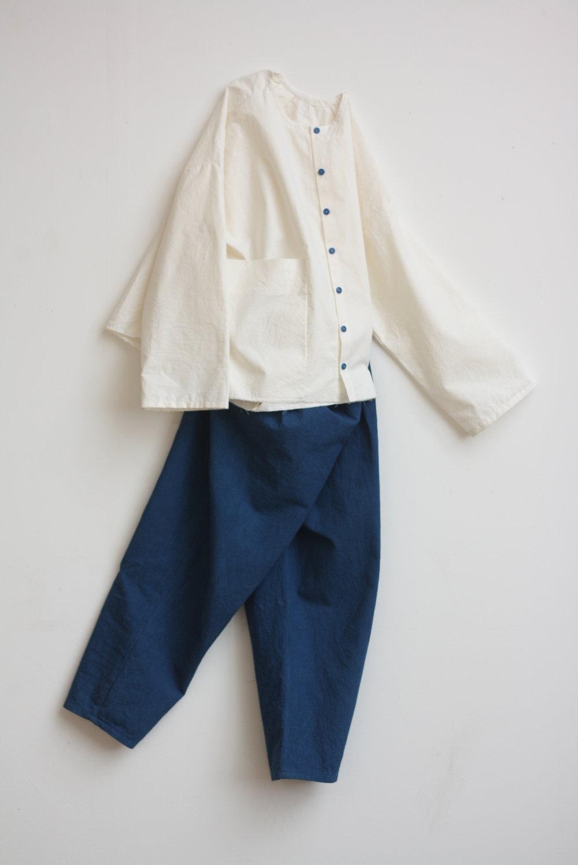 sarah johnson cabbage blue indigo clothing cast cornwall folklore walking