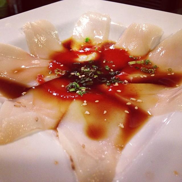 Escolar sashimi #foodporn #mikimotosushi #nola #healthyeats #freshbites