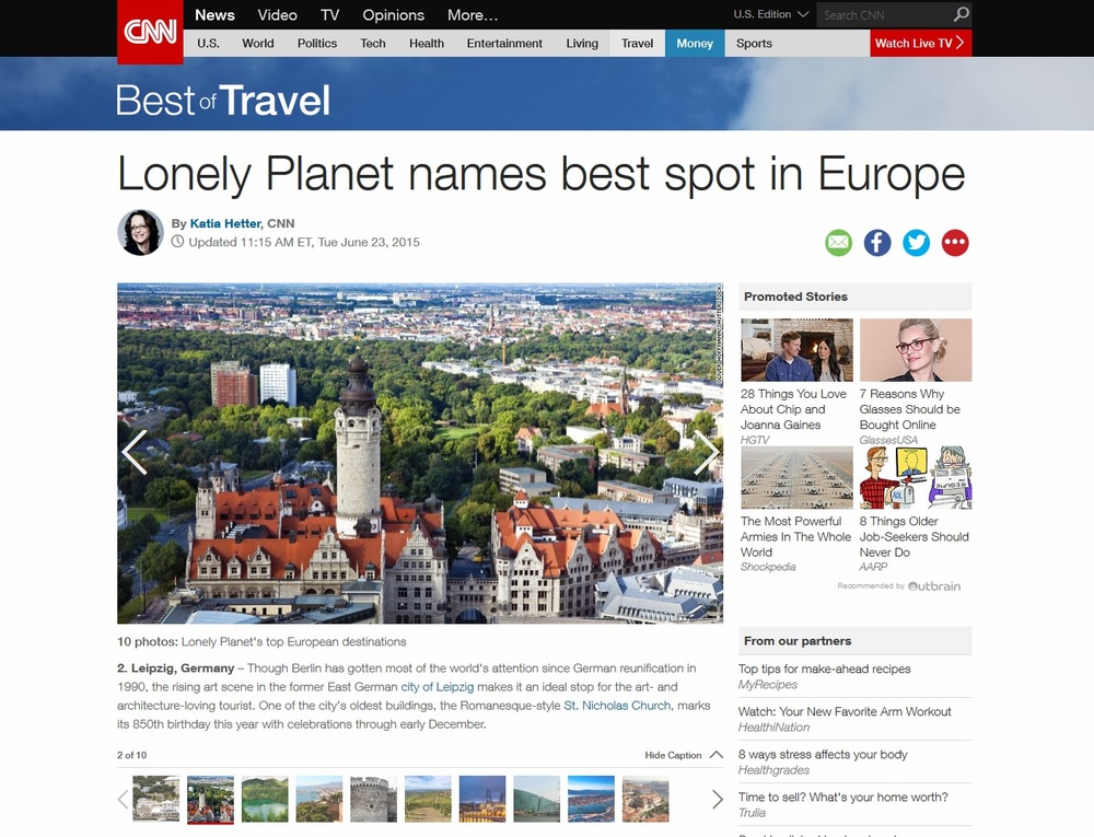 CNN-Lonely Planet Names Best Spot in Europe