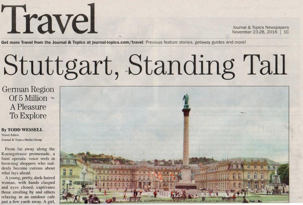 Stuttgart, Standing Tall