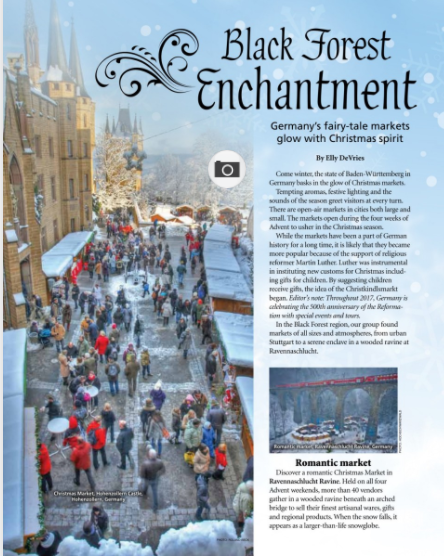 Group Tour Media: Black Forest Enchantment