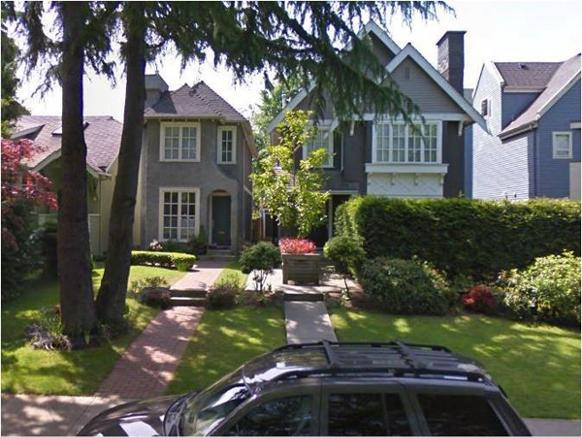 To make room for millennials, do more of this: a Kitsilano conversion of a single family home into three condo units, two in the big original house and one new one built into the previous side yard space.