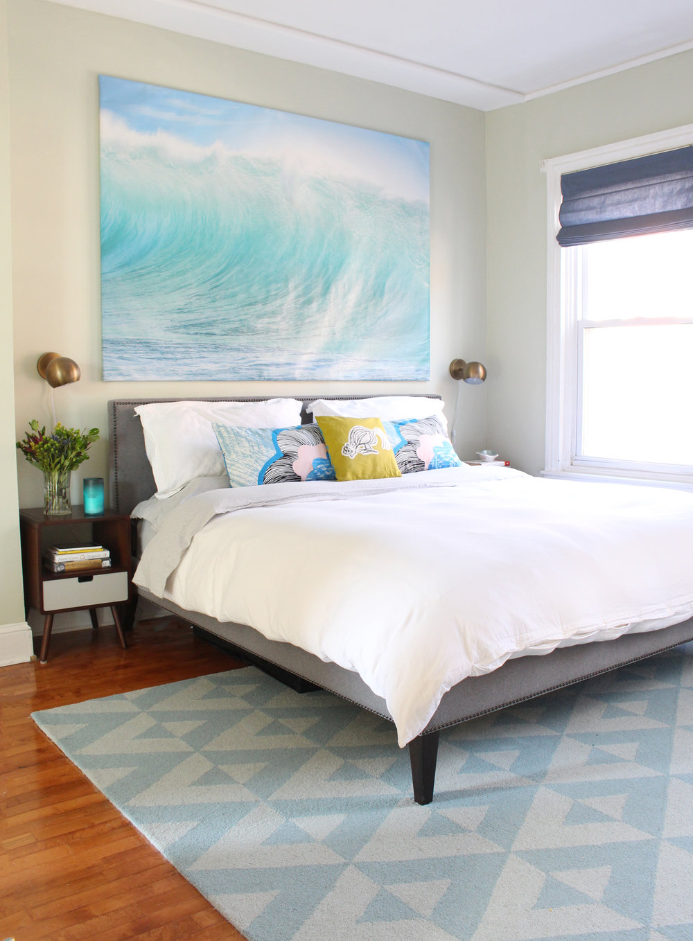 A master bedroom in Philadelphia gets a long overdue makeover.