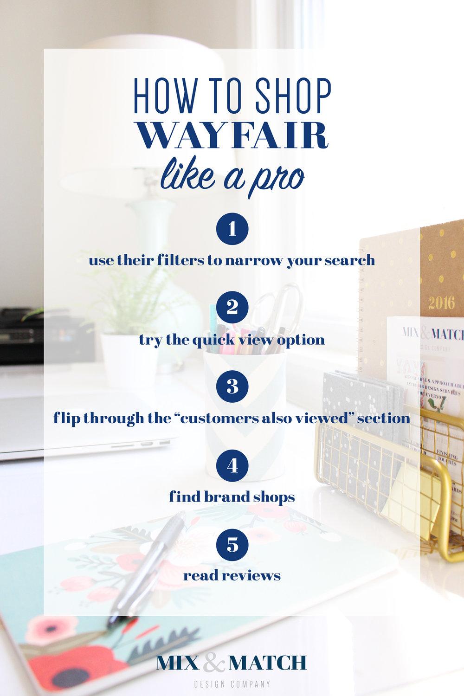 How to shop Wayfair like a pro!