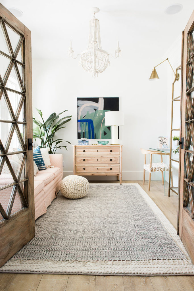 Design Loves Detail's bright and airy home office.