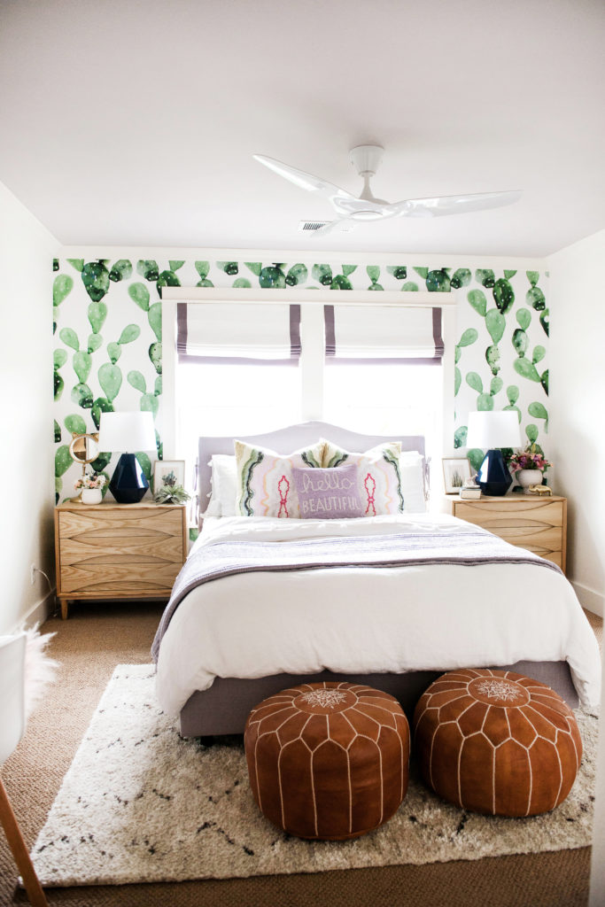 Modern and playful tween bedroom from Suburban B's.