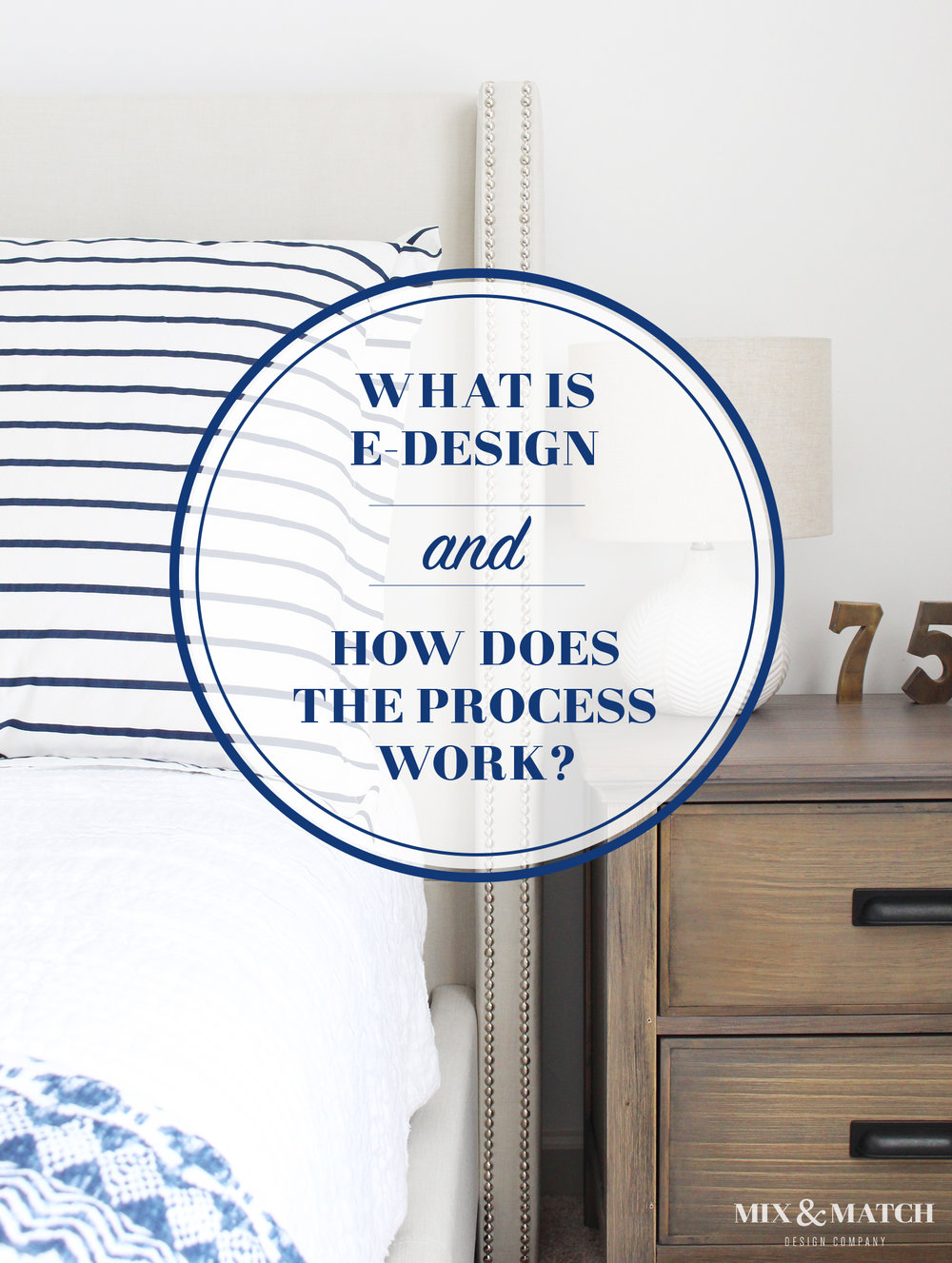 What is e-design (online interior design) and how does the process work? I'm answering that question in detail over on the Mix & Match Design Company Blog!