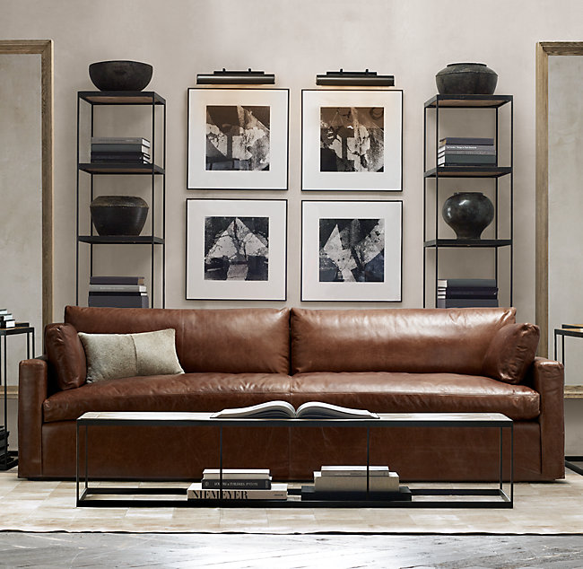 Want to create a moody, masculine living room in your home? Come on over to the blog to see inspiration and get ideas on how to pull it together!