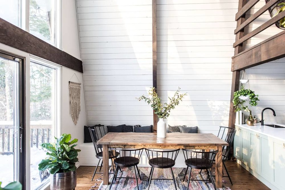 The Hunter Greenhouse - Airbnb in Tannersville, NY // Best Airbnbs