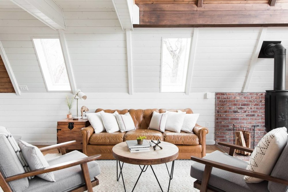 A-Frame Haus in Heber, UT // A Roundup of the Best Airbnbs
