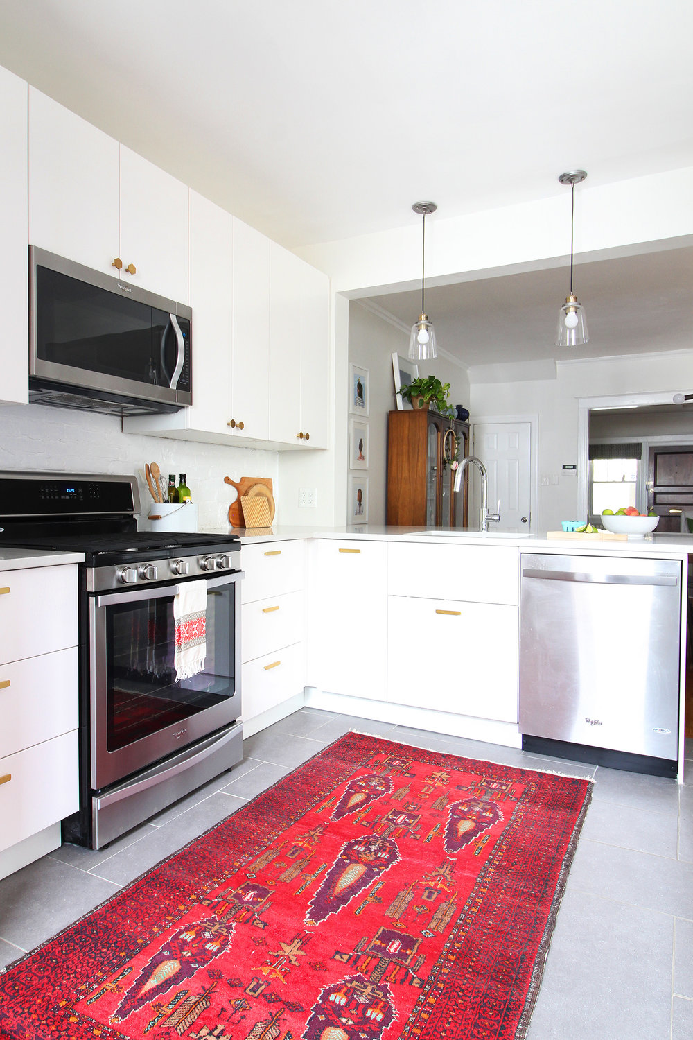 Our Modern White Kitchen Renovation Two Years Later — Mix & Match ...