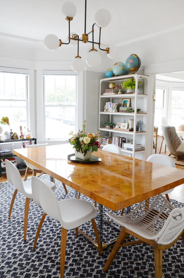 Inspiration For A Coastal Modern Dining Room. This Blue And White Color  Palette With Touches