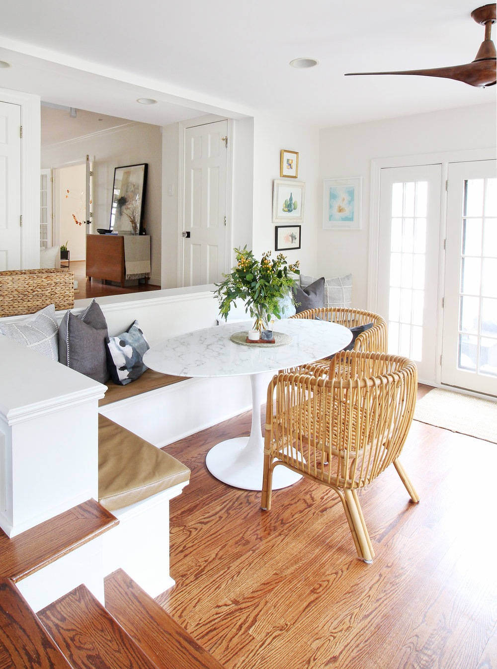 Taking a look back at the top 10 blog posts for Mix & Match Design Company of 2018! Come see what was popular in interior decorating, design tips, e-design projects, and more. Spoiler: this Coastal California breakfast nook made the list and it's one of my absolute favorite projects to date!