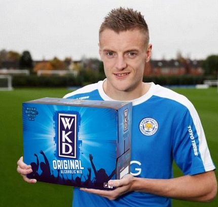 JAMIE VARDY'S HAVING A PARTY