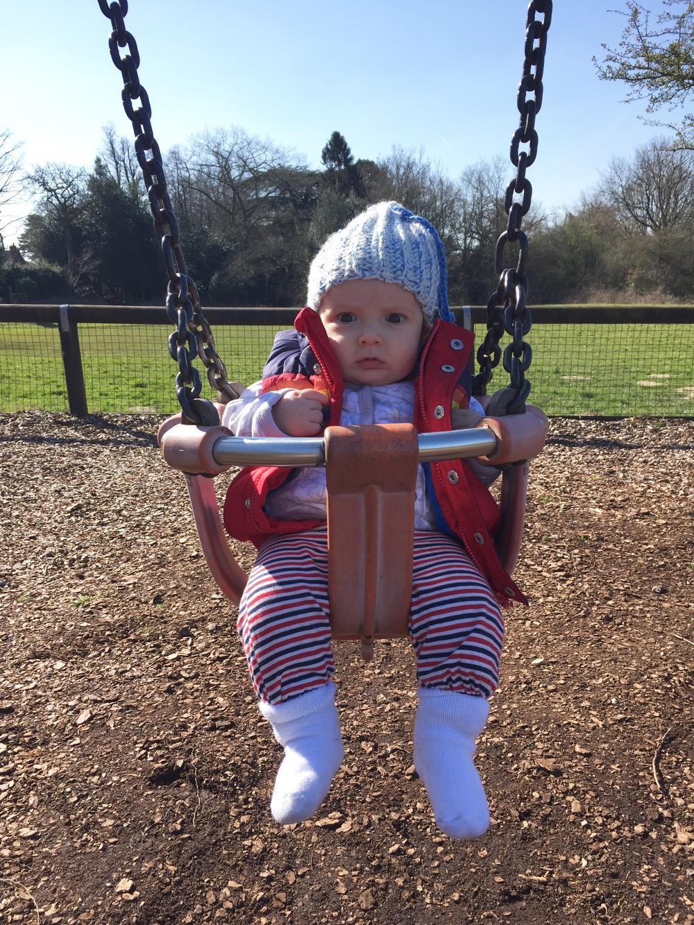 RESEARCH SHOWS 91% OF A CHILD'S WEEKEND IS SPENT ON A SWING
