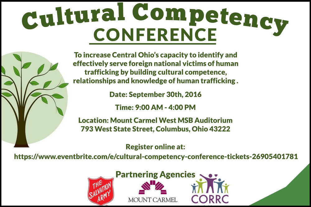 Cultural Competency Conference Flyer