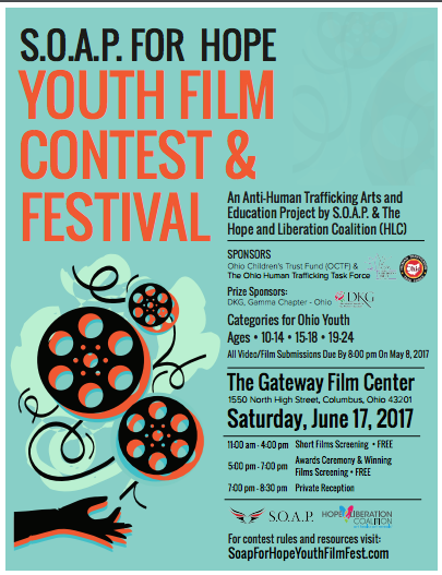 S.O.A.P. For Hope Youth Film Contest & Festival 06.17.17