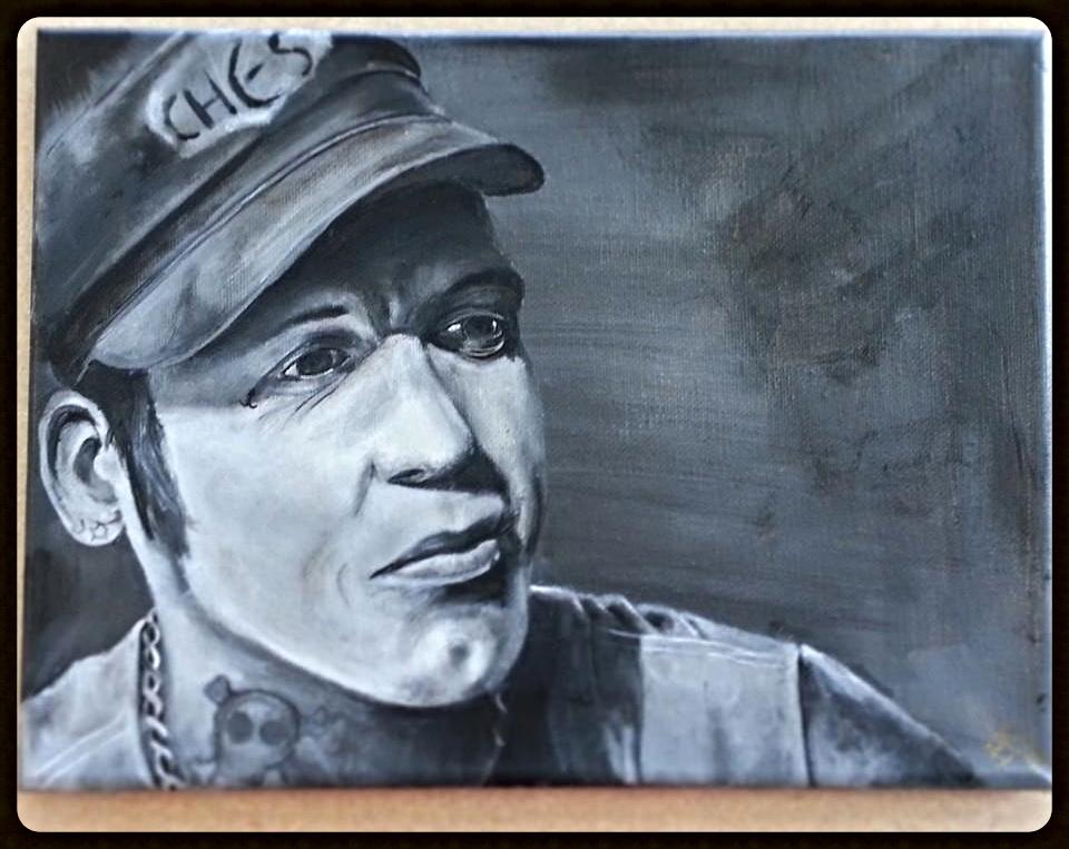 Duane Peters Portrait
