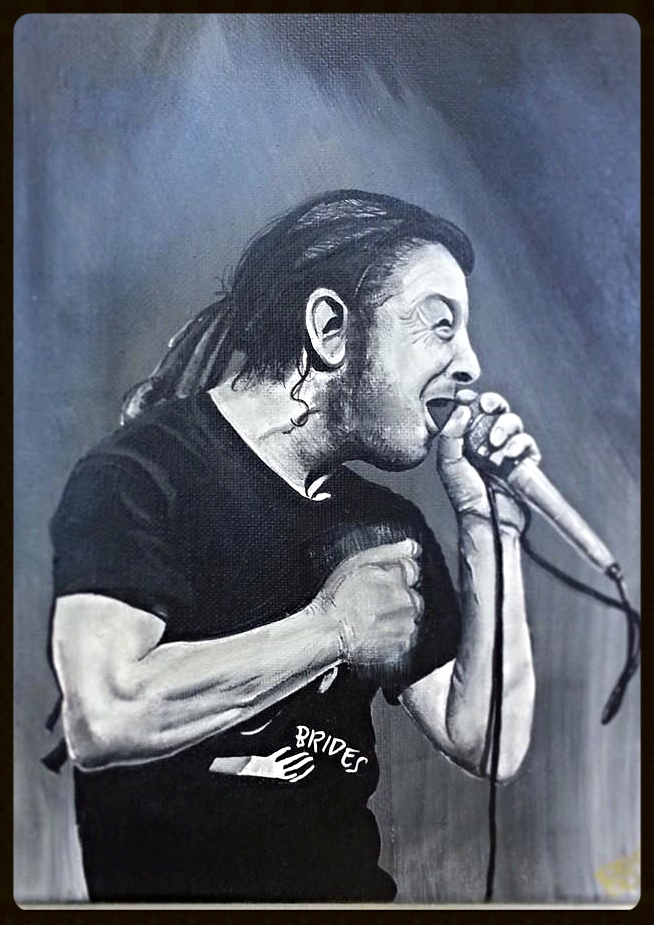 Keith Morris Portrait