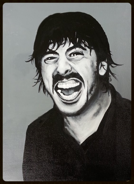 Dave Grohl Portrait