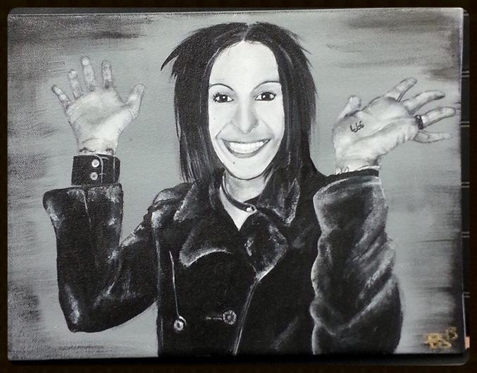 "Bianca ""Butthead"" Halstead Portrait"