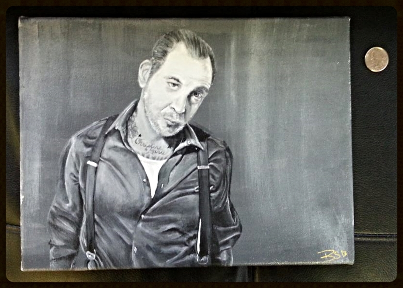 Mike Ness Portrait