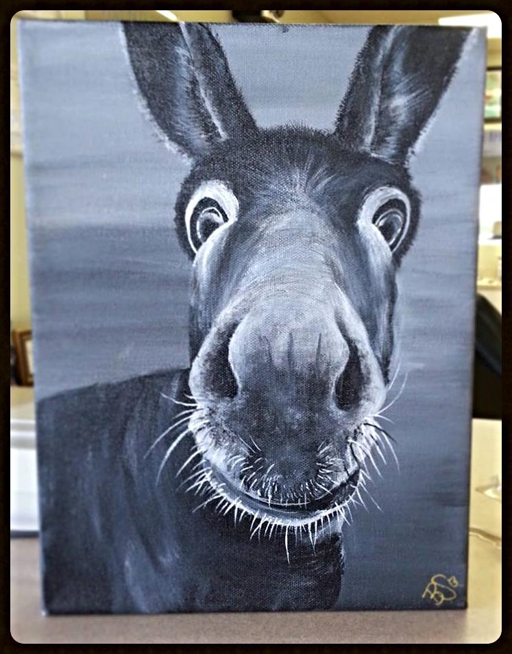 Fuzz Nose Donkey