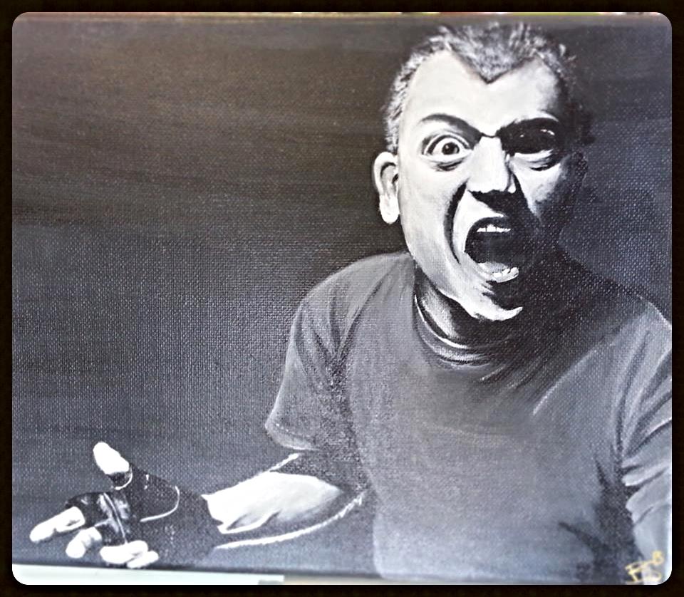 Blag Dahlia Portrait