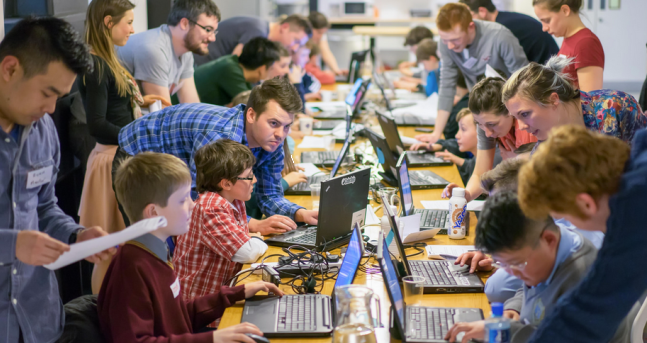 CoderDojo is a global movement of voluntary coding clubs for kids.