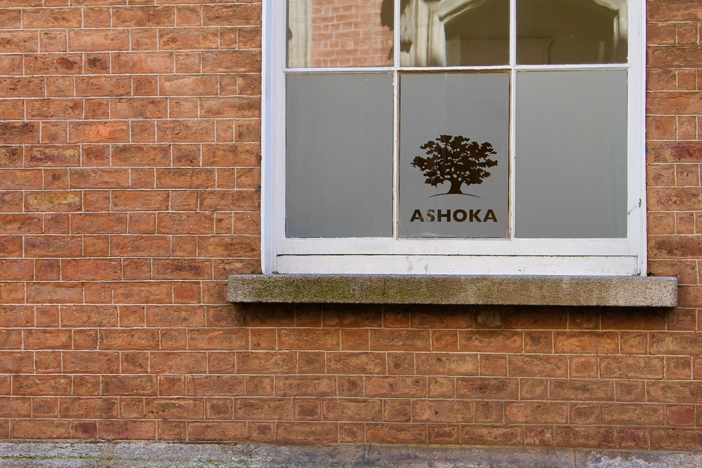 Ashoka Ireland is headquartered at 23 South William Street, Dublin 2.