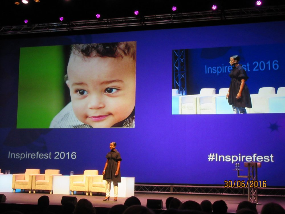 Ashoka Fellow Alex Bernadotte (founder of Beyond12) speaks at Inspirefest