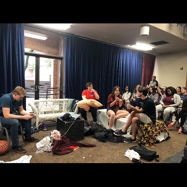 We had a great crowd for both performances of The Men's Project. We are proud to be apart of this and thankful to our alma mater @trinityu for giving us this opportunity. We hope that this is just the start of the conversation about the male college culture. Let's see what we can do next! #tumensproject  #theatreforsocialchange