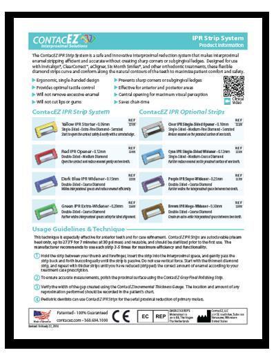 IPR Strip System Info