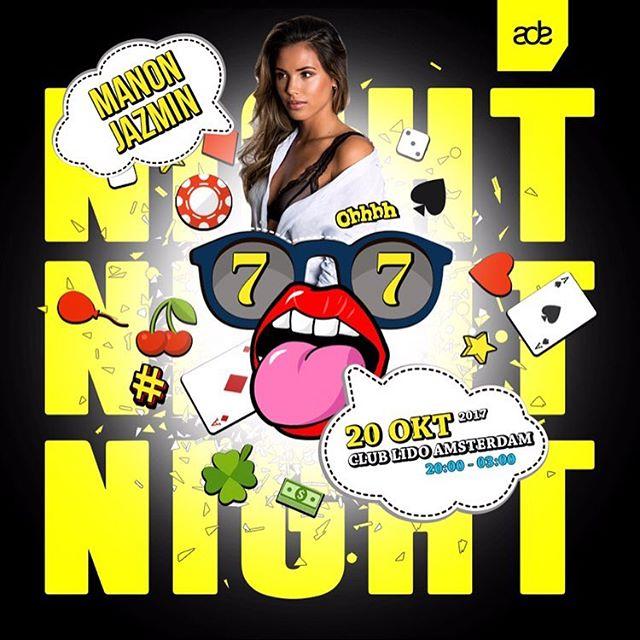 Heren en dames, dames en heren. Onze @djmanonjazmin komt ons vergezellen met lading aan R&B en een beetje Hip-Hop deze vrijdag. Oefen je danspasjes want je gaat ze nodig hebben ❤️! #leidseplein #hollandcasino #nightfeestje #amsterdam #ade2017 #amsterdamdanceevent #amsterdamlife #amsterdamgram #manonjazmin #night #lidoamsterdam #hollandcasino