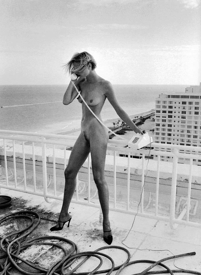 "Helmut Newton's ""Celia, Miami, 1991"""