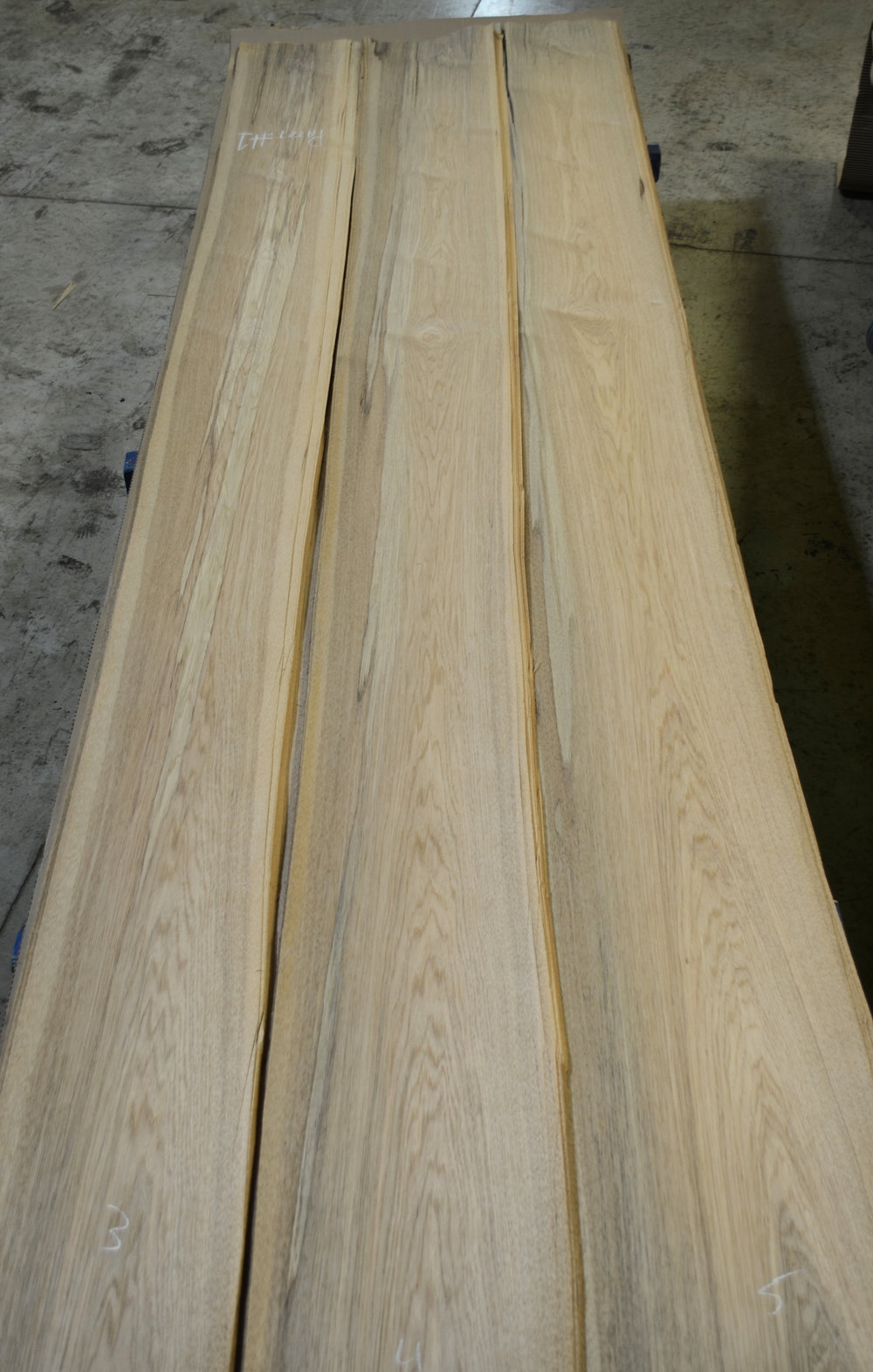 Antique River Logs Reclaimed Hickory