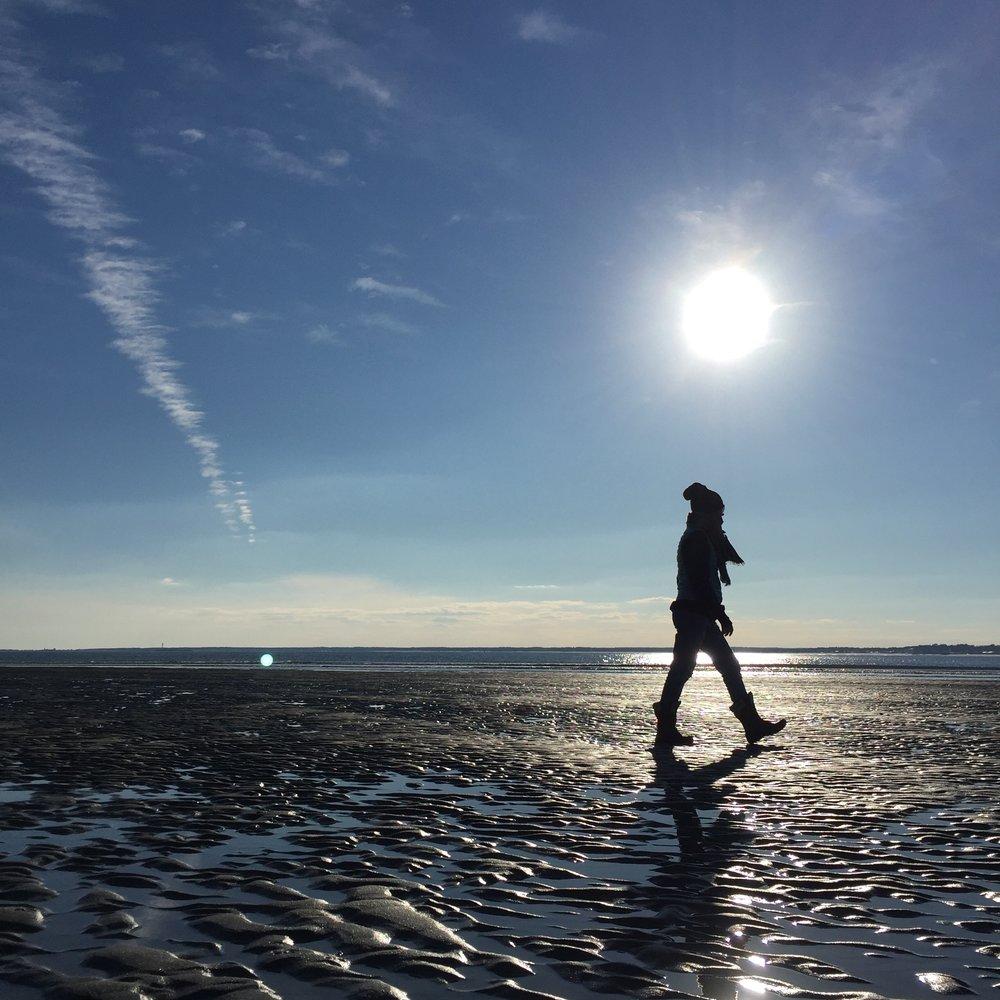 Practice walking beautifully -