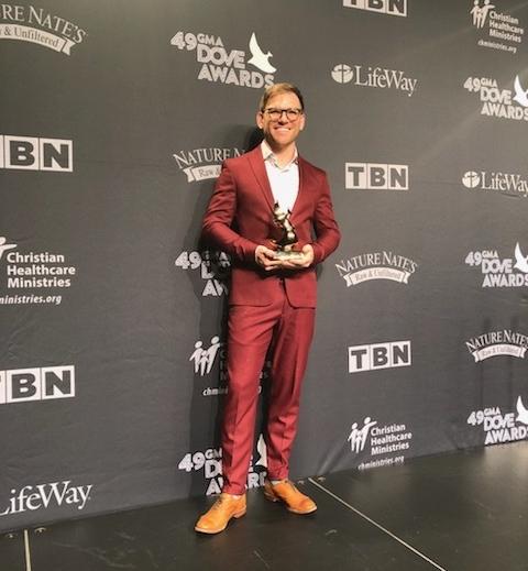 Rick Seibold Receives a Dove Award