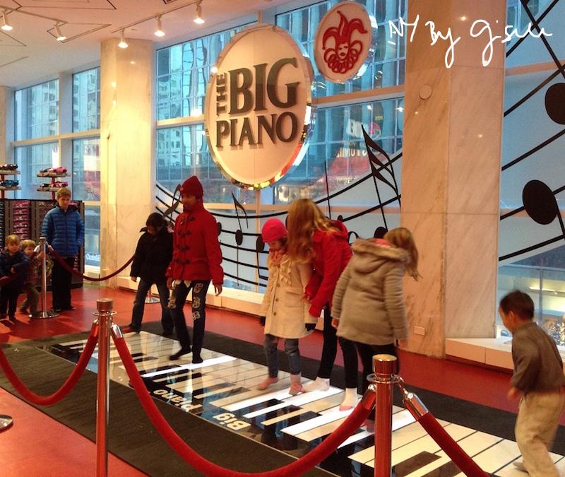 Imagem da loja de brinquedos FAO Schwarz 5th Avenue - The Big Piano