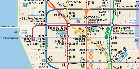 map from MTA website