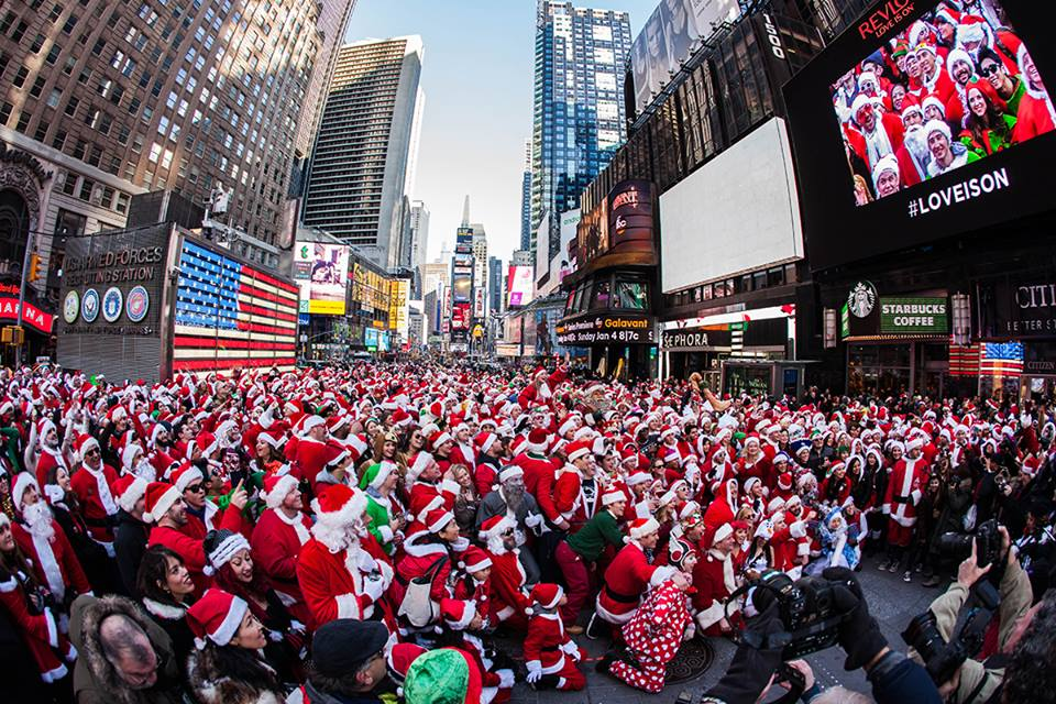 photo from SantaCon Facebook
