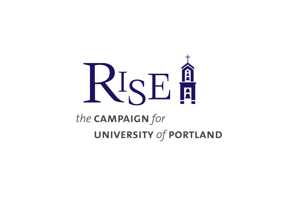 The campaign needed a brand identity that leveraged the equity of the institutional brand (University of Portland), abided by the rules of the university's brand architecture, yet specific to the campaign.