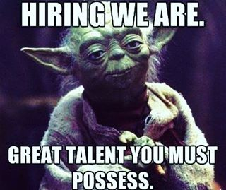 In honor of #starwars #keepingupwithaquarius #jobs #job #nowhiring #hiringnow #cincinnati #cinci #jobsearch #talentsearch #staffing #jobseeker #jobseekers #recruitingnow #work #working #hardwork #recruiting #ohiostate #ohio #mondaymotivation