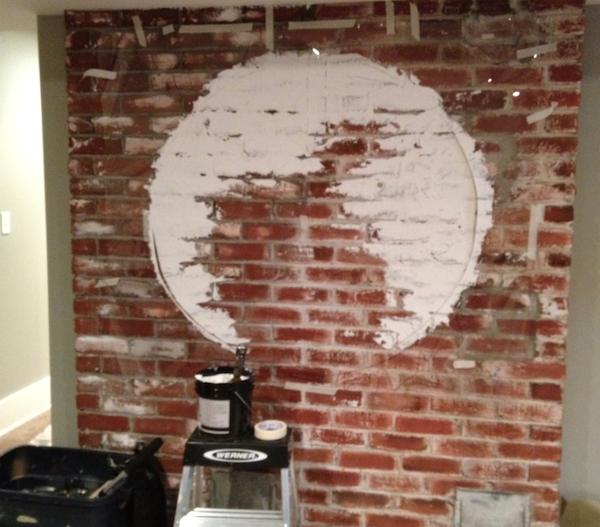custom mural for a family basement garrison hullinger. Black Bedroom Furniture Sets. Home Design Ideas
