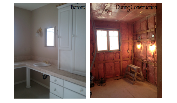 before and after bathroom remodel, remodeling home photos