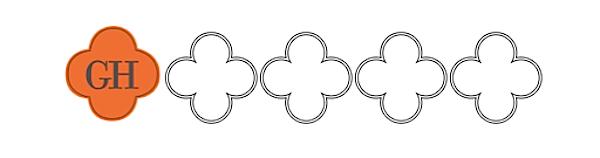 quatrefoil logos, garrison hullinger interior design shape