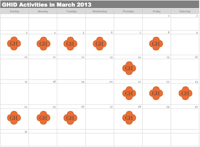 calendar for portland interior designer, Garrison hullinger interior design cal