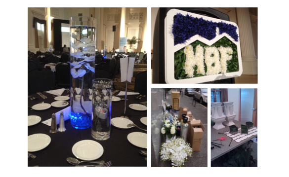 the black and white gala, garrison hullinger interior design getting prepped for the gala