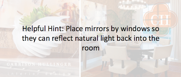 creating the illusion that a room is bigger through mirror place, using mirrors to make a room look bigger, creative ways to use a mirror to make a room look bigger